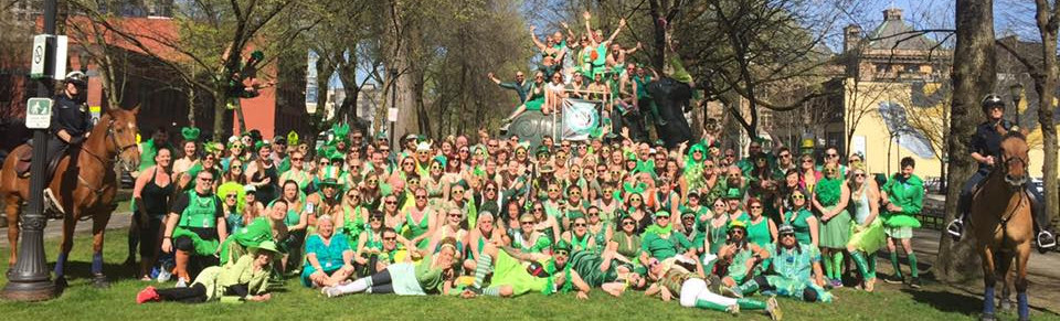PDX Green Dress Weekend